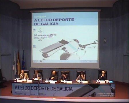 O deporte galego e os seus axentes ante a nova Lei - Xornada sobre a Lei 3/2012, do 2 de abril, do deporte de Galicia